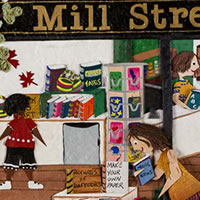 Website for Mill Street Books