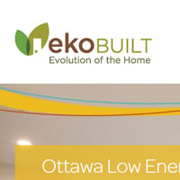Ottawa web design for EkoBuilt