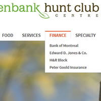 Website for Greenbank Hunt Club