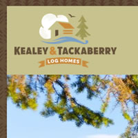 Ottawa website for Kealey Tackaberry Log Homes