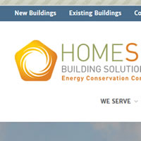 Perth Web Design for Homesol Building Solutions