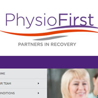 Website for PhysioFirst Orthopaedic and Sports Centre