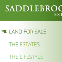 Website for Saddlebrooke Estates