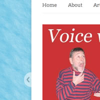 Website for Barclay McMillan and Voice Emergent